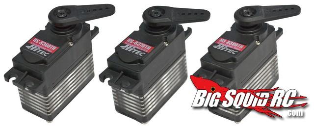 Hitec 83xxTH series servo's
