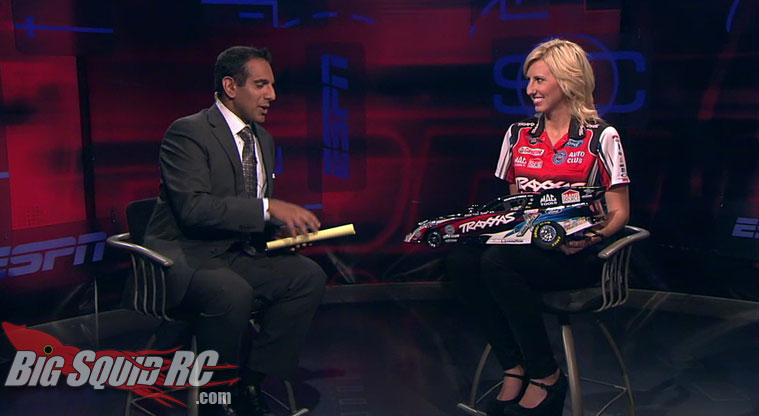 courtney force and traxxas funny car