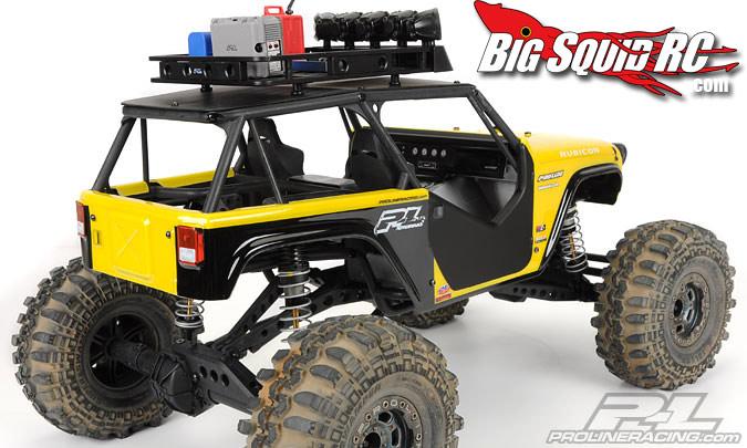 Pro Line Jeep Wrangler Rubicon Body For Axial Wraith 171 Big