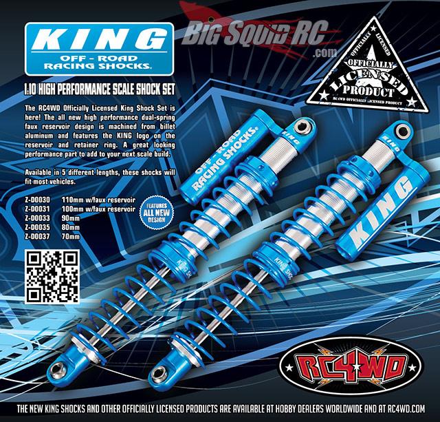 Rc4wd King Off Road Piggyback Shocks 171 Big Squid Rc Rc
