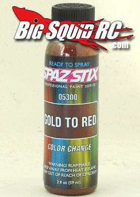Spaz Stix Gold To Red