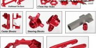 Red Anodized Traxxas