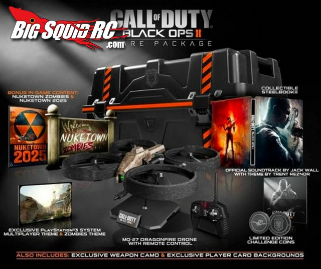Call of Duty Black Ops2 With Drone Quad-Copter