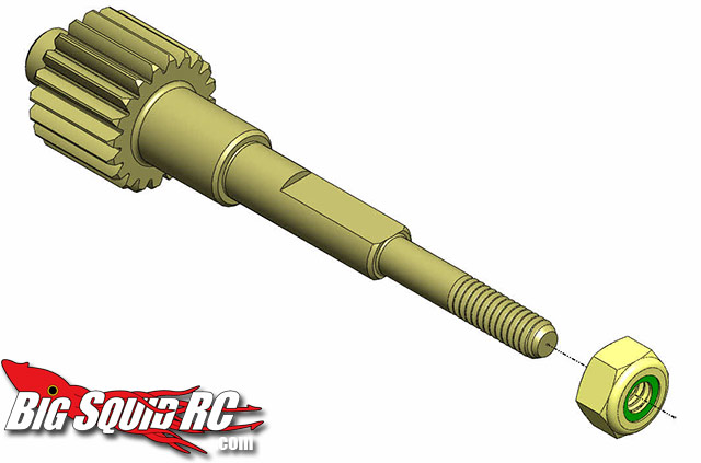 mip associated top shaft