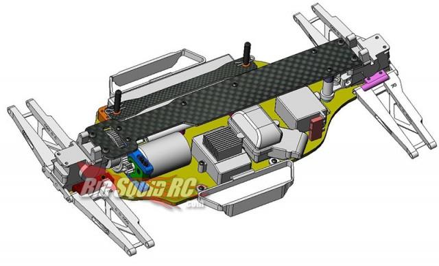 st racing slash 4xr4 chassis
