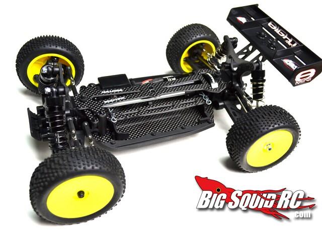 Exotek Losi Mini 8ight Carbon Fiber Hop-ups