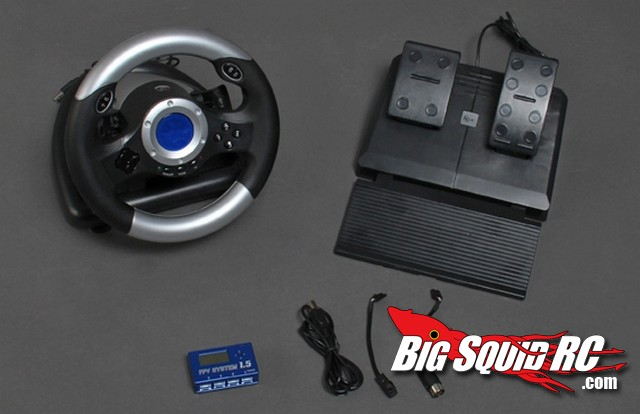 HobbyKing Car FPV Wheel and Pedal Kit