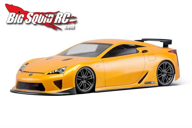 PROTOform lexus lfa 200mm body