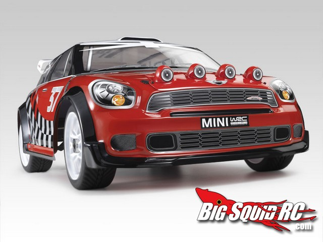 Thunder Tiger Tomahawk XL Mini Cooper Rally Car