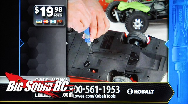 Kobalt Double Drive Screwdriver Features Axial EXO Terra Buggy