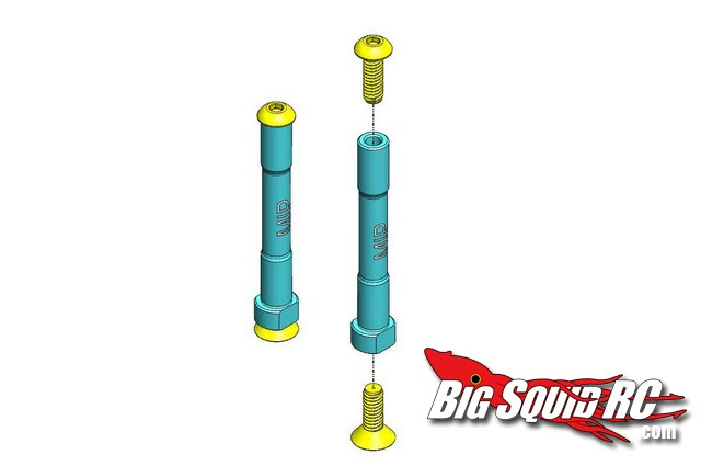 MIP Aluminum Steering posts for Losi Ten SCTE