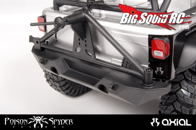 Axial SCX10 Poison Spyder Rear Bumper Tire Carrier