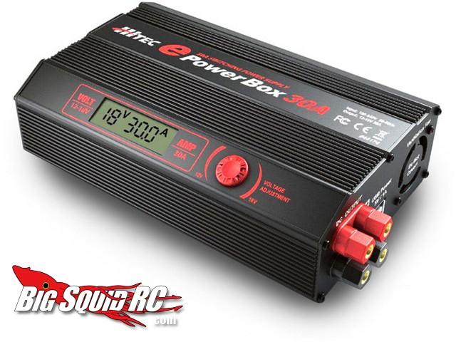 Hitec ePowerBox 30 amp power supply