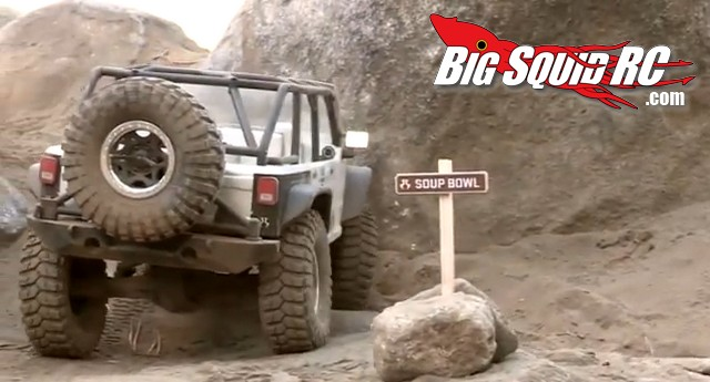 Axial SCX10 Jeep Wrangler Unlimied on the Rubicon Trail
