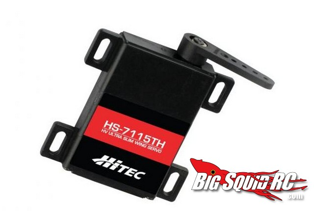 Hitec HS-7115TH HV Ultra Slim Titanium Gear Servo