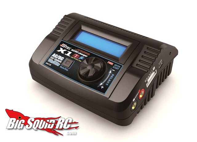 Hitec X1 MF 80-Watt Battery Charger