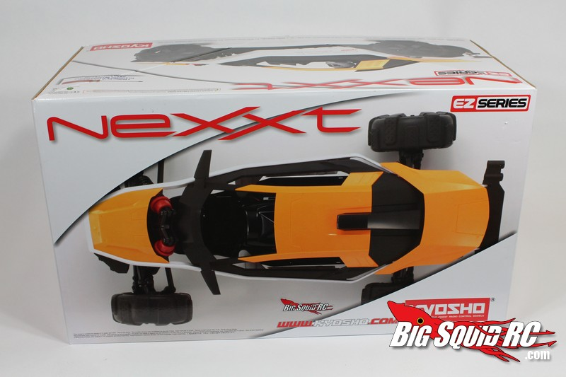 Unboxing Kyosho NeXXt buggy readyset