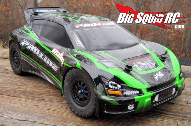 Pro-Line Traxxas Rally Car Upgrades