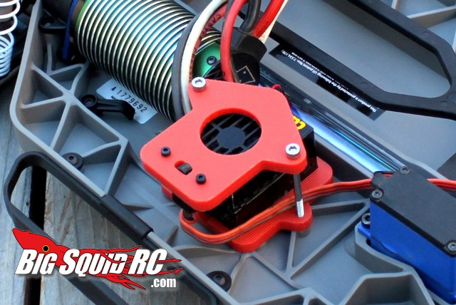 Snappy RC Products Castle Speed Controller Mount for the Traxxas Slash 4x4