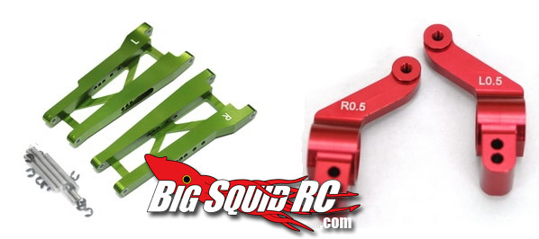 traxxas rally hop up parts