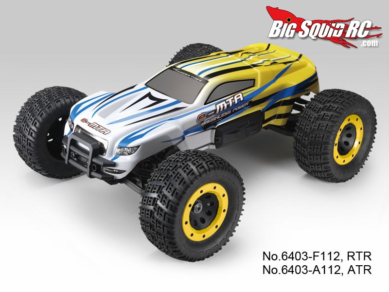 Thunder Tiger e-MTA 8th scale brushless monster truck