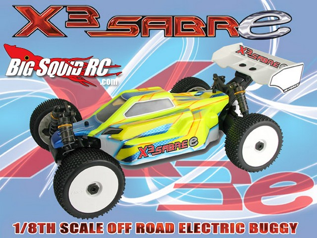 Hong Nor X3e Sabre Electric 8th Scale Buggy « Big Squid RC – RC Car