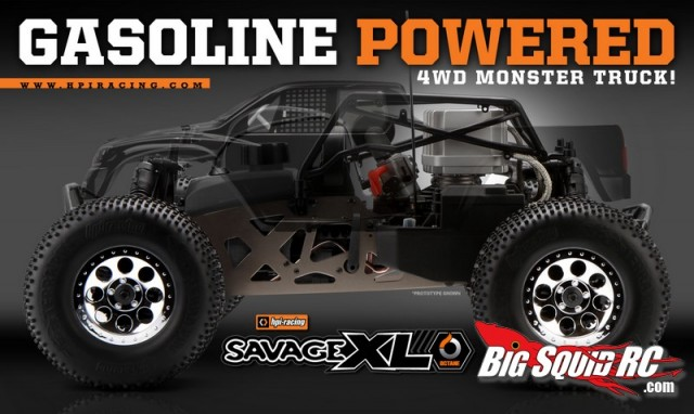 hpi savage xl octane gas powered monster truck