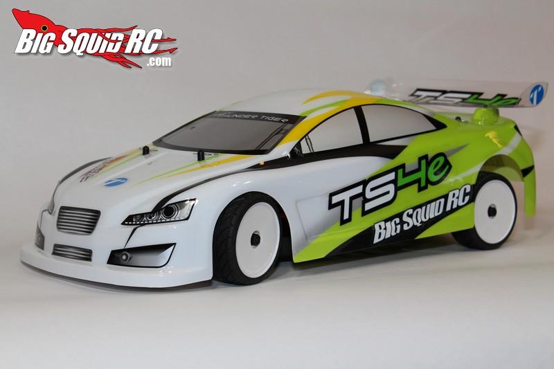 Thunder Tiger TS4e brushless rtr 2.4 ghz touring car review