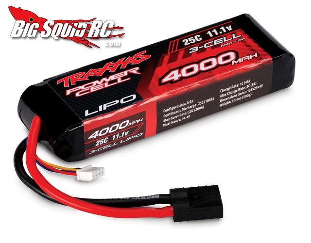 Traxxas Lipo Batteries are Super Fresh