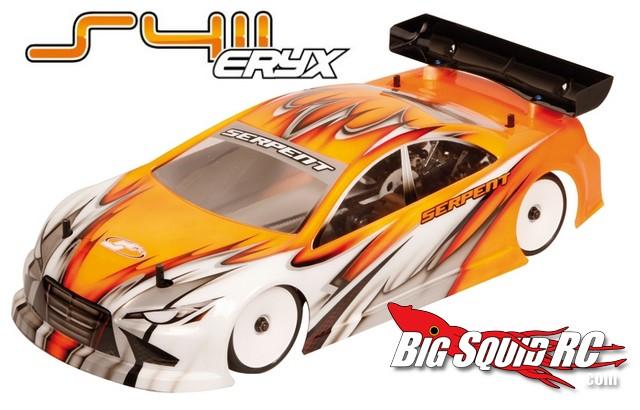 Serpent 411 Eryx Version 2 Touring car
