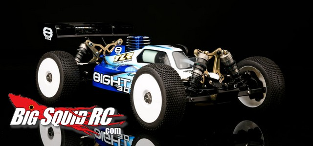 Team Losi Racing Eight 3.0 nitro buggy 8th scale