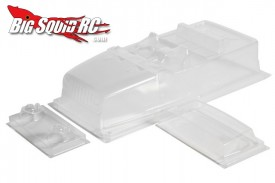 clear axial jeep body