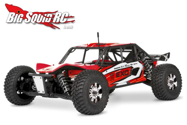 axial exo terra buggy pre-printed red body