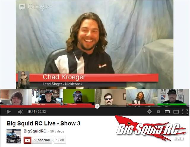 BigSquidRC Live Show Google Plus Hangout