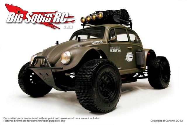 Carisma M10DT Volkswagen Beetle Desert Edition Brushless RTR