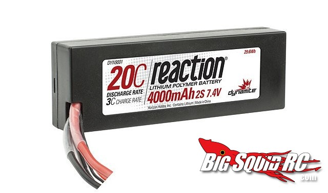 Dynamite Reaction 20C 30C Lithium Polymer Batteries