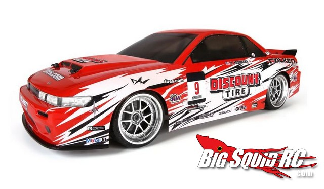 HPI Discount Tire/Falken Tire Nissan S13 Drift Car