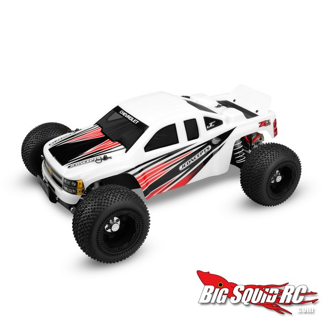 JConcepts body for Traxxas Ruslter