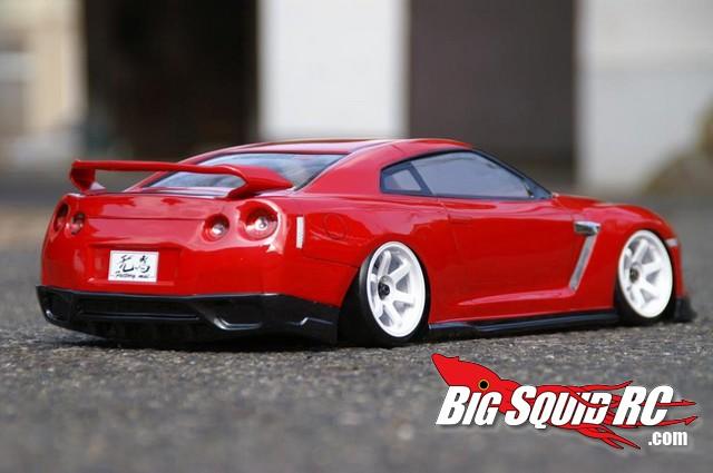 Pandora RC NISSAN SKYLINE R35 GT-R Clear Body « Big Squid RC – RC ...