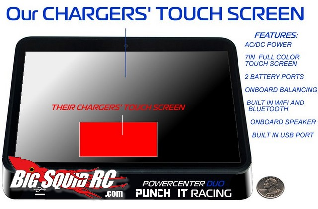 Punch It Racing Powercenter duo Lipo charger