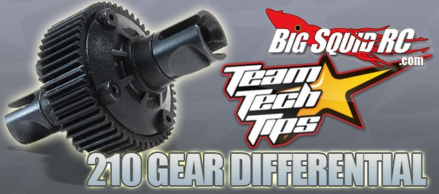 Team Durango Gear Differential For DESC210, DEST210R, DEX210