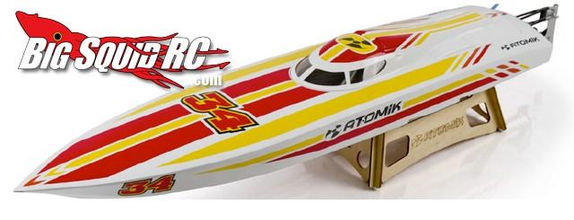 """Atomik RC 36"""" P1 Brushless Racing Boat"""