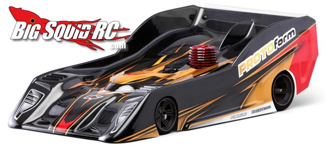 PROTOform PFL128 PRO-Lite 8th Scale Nitro On-Road Clear Body