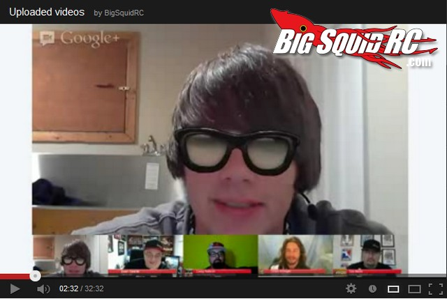 Adam The Intern BigSquidRC LIVE Show Google +
