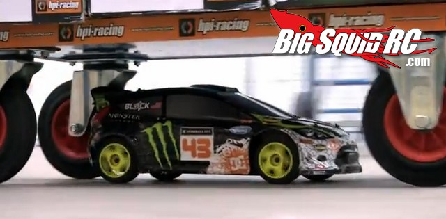 Ken Block WR8 FLUX HPI Europe Video