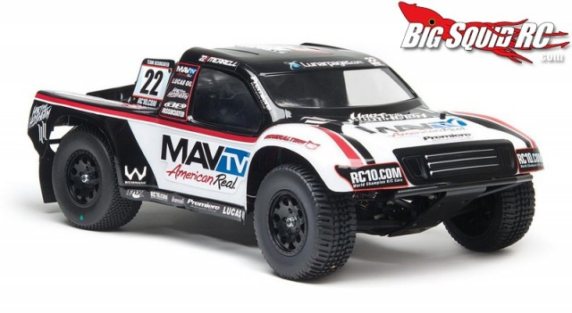 Team Associated SC10RS RTR Hart & Huntington LiPo Combo