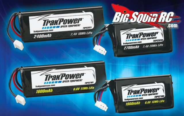 trakpower lipo life receiver battery packs