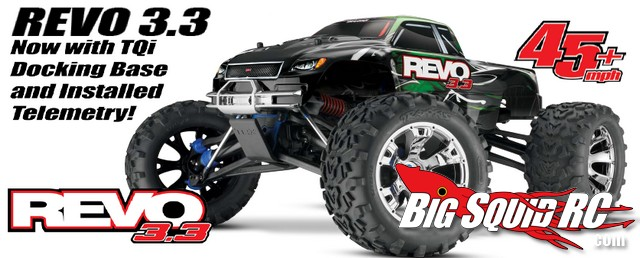 Traxxas Revo 3.3 TQi and Telemetry