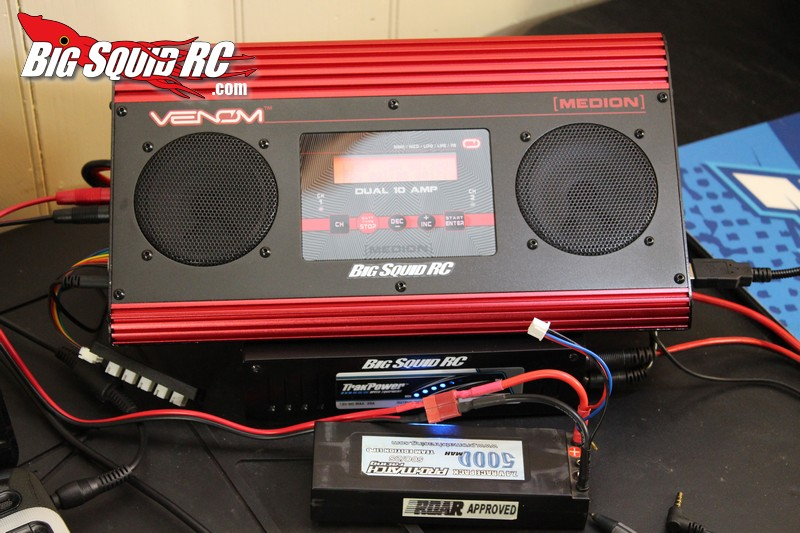 review venom medion dual 10 amp battery charger with speakers big squid rc rc car and truck. Black Bedroom Furniture Sets. Home Design Ideas