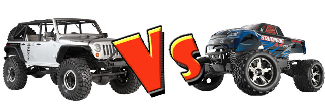 Axial Jeep vs Stampede 4x4